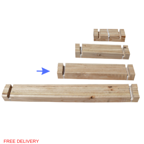 Raised Bed L Slats