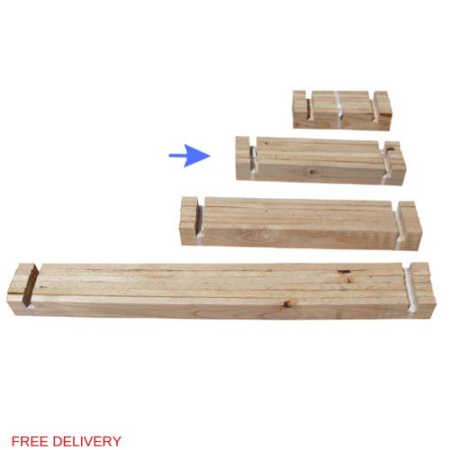 Raised Bed M Slats